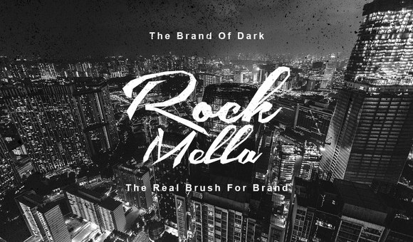 Rock Mella Brush Font