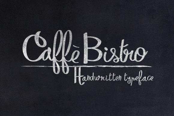 CaffèBistro Script Font