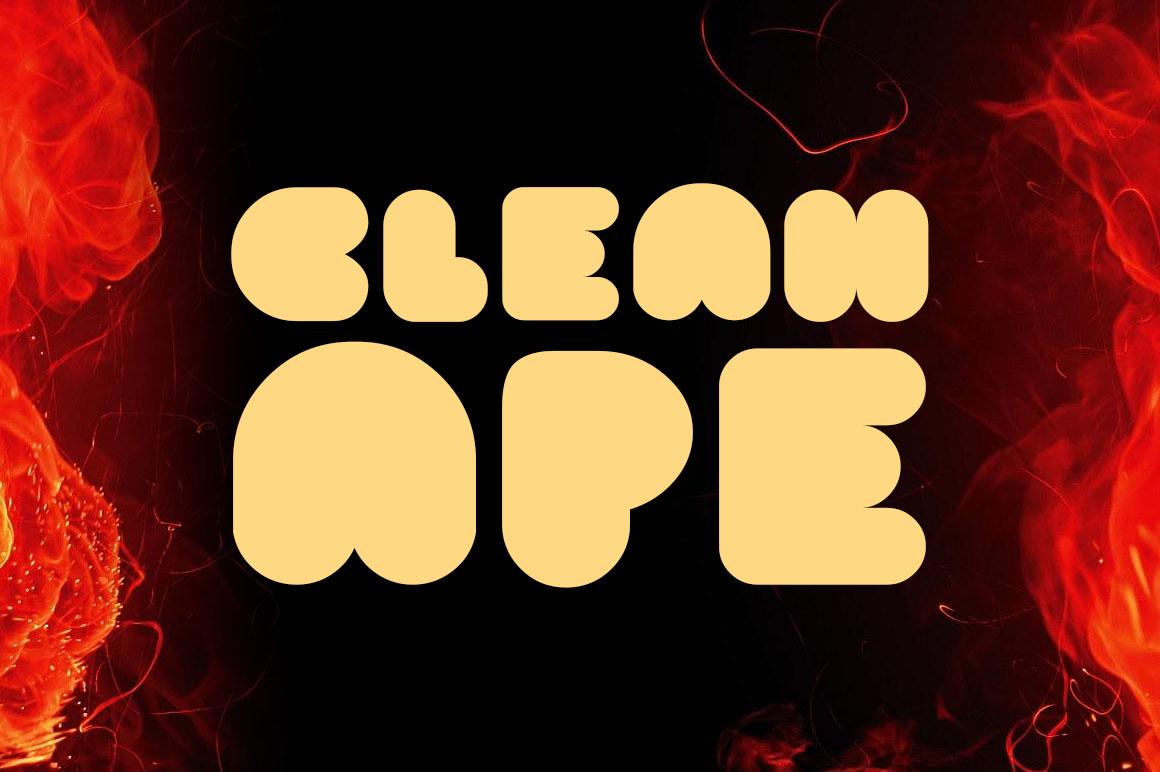 clean-ape-free-font
