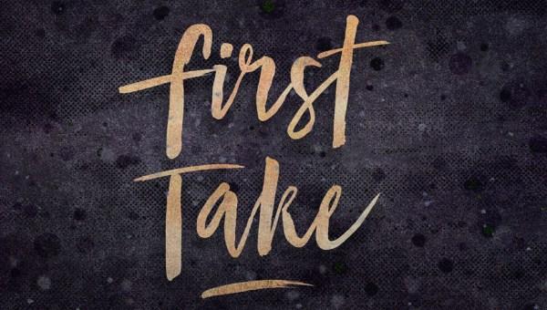 First Take Brush Font