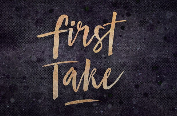 First Take Brush Font