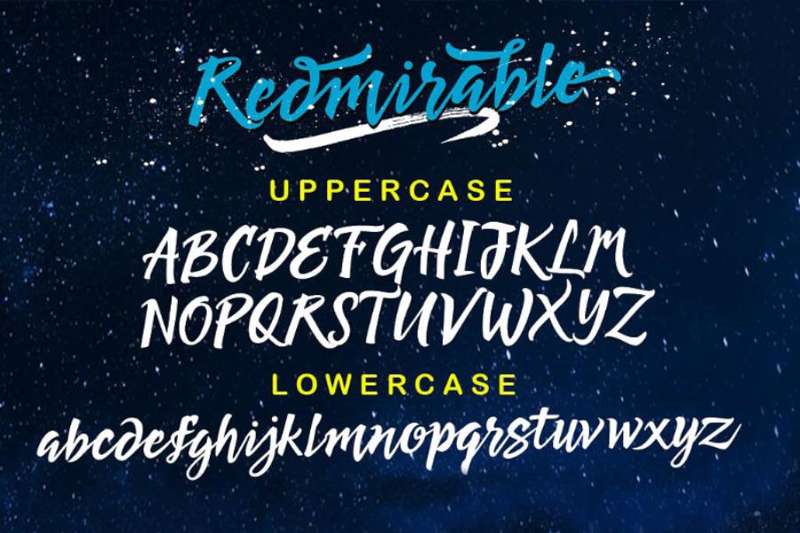 redmirable-script-font-2