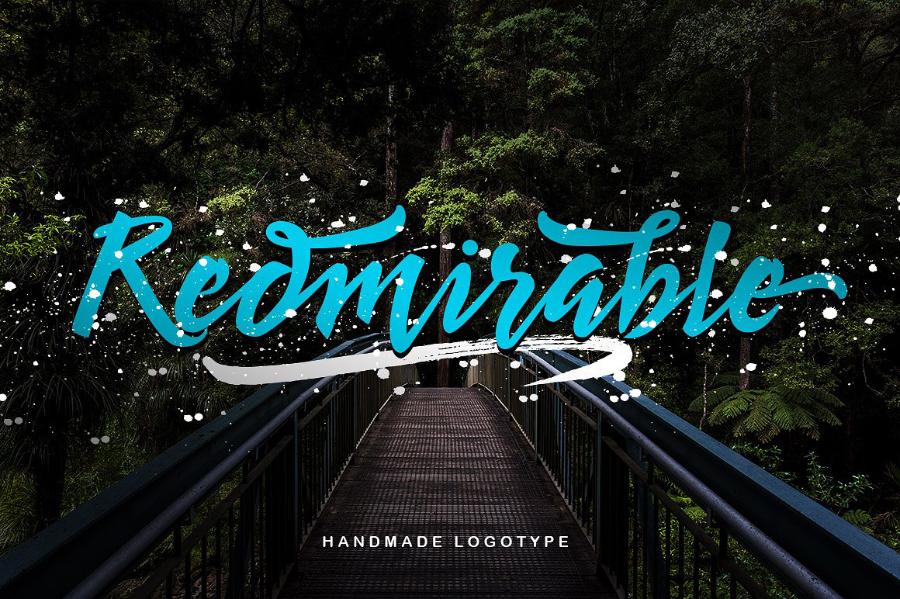 redmirable-script-font
