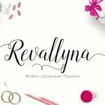 Revallyna Script Font