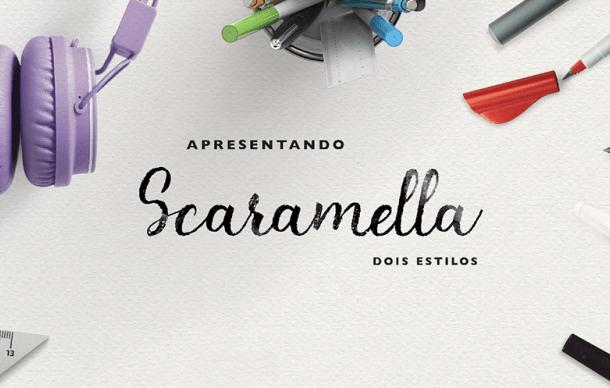 Scaramella Script Font