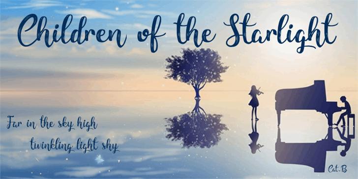 children-of-the-starlight-font