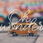 Oh Wonder Font Duo