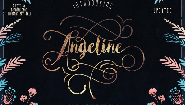 Angeline Vintage Font