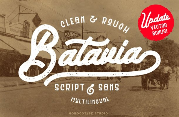 Batavia Typeface Font
