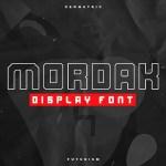 Mordak Typeface