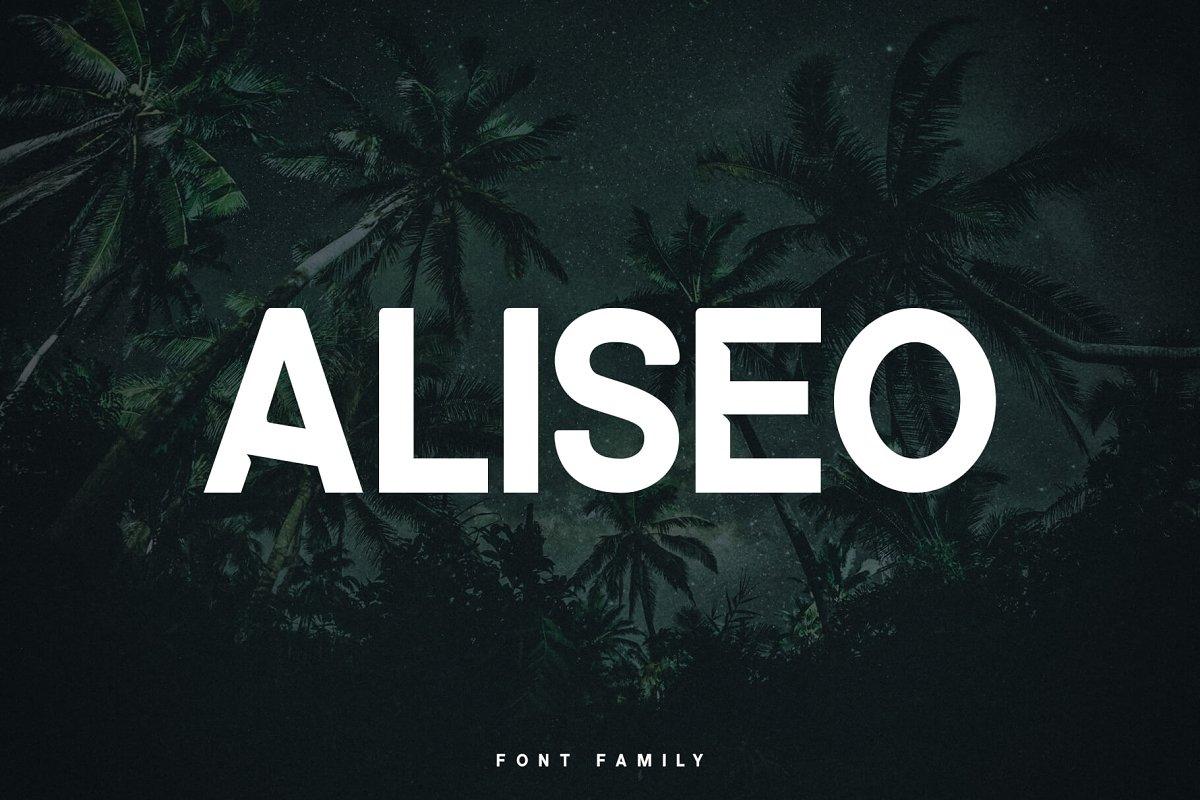 aliseo-font-family