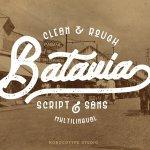 Batavia Typeface Free