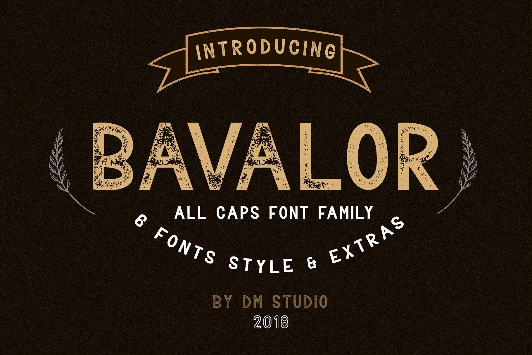 bavalor-typeface