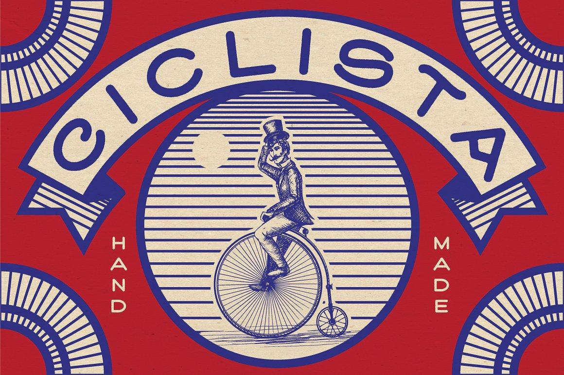 ciclista-typeface