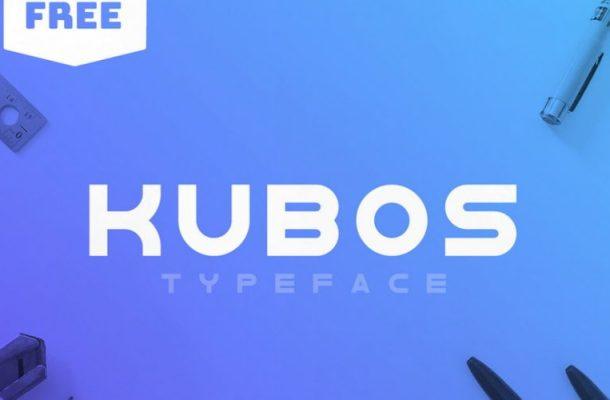 Kubos Typeface Free