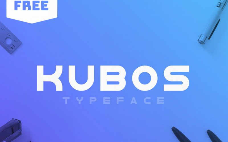 kubos-typeface