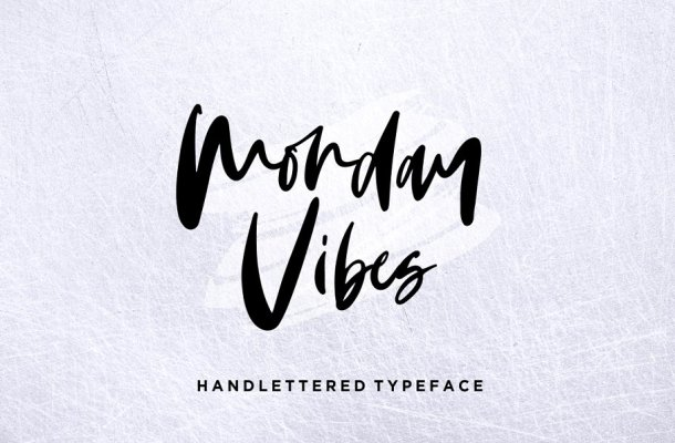 Monday Vibes Handwritten Font