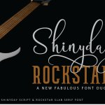 Shinyday & ROCKSTAR Font Duo