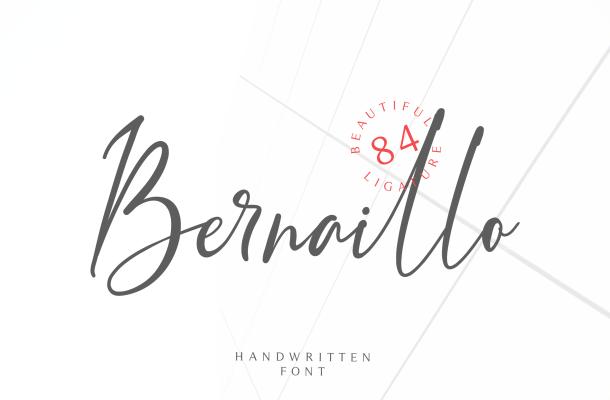Bernaillo Handwritten Font