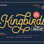 Free Kingbirds Regular Font