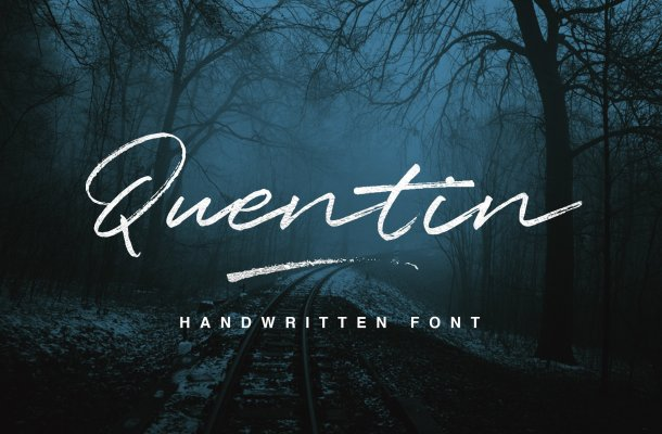 Free Quentin Font