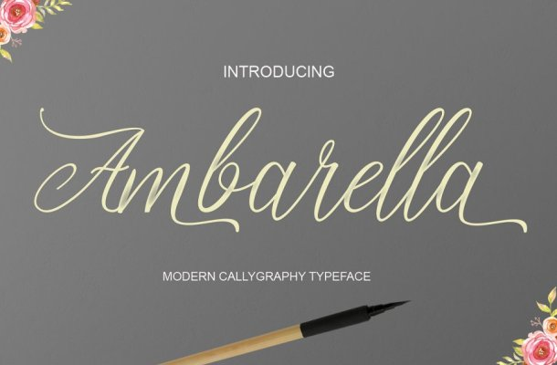 Ambarella Font