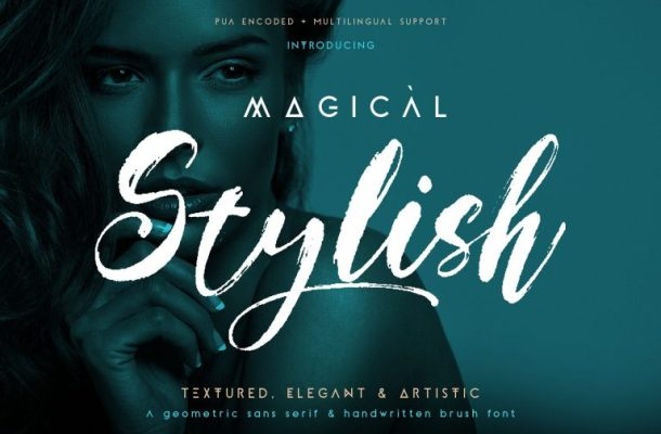 Magical Stylish – Font Duo