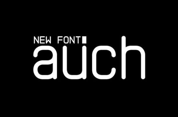 Auch Free Font