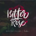 Bitter Rose Brush Script