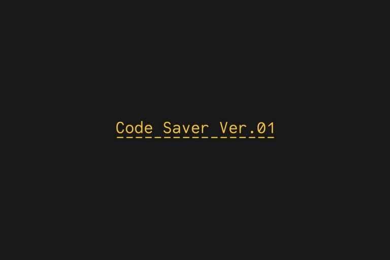 Code Saver Font Family - Free Fonts