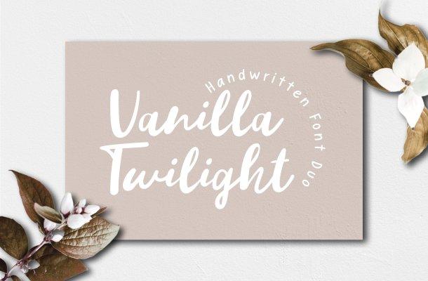 Vanilla Twilight Script Font
