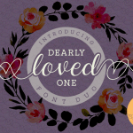 Free Dearly Loved One Font