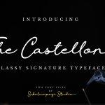 The Castellon Script Font