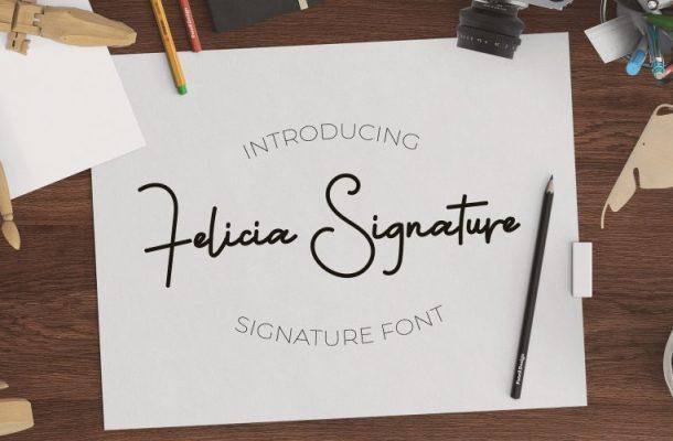 Felicia Signature Font