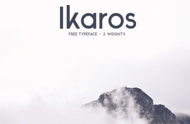 Free Ikaros Font