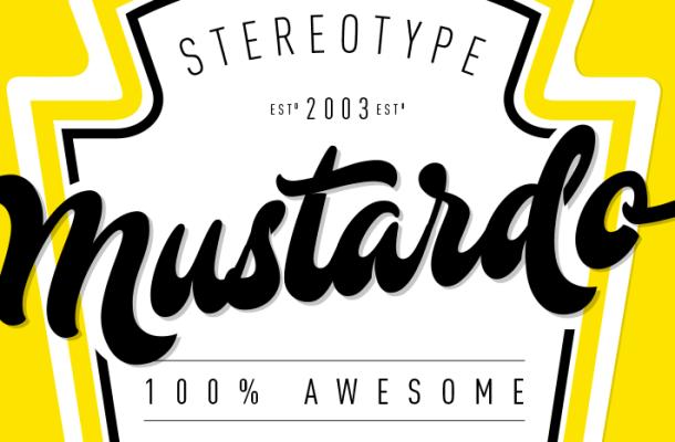 Mustardo Script Font