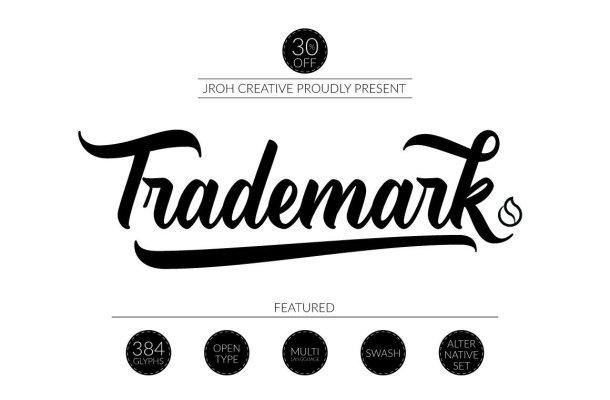 Trade Mark Demo Font