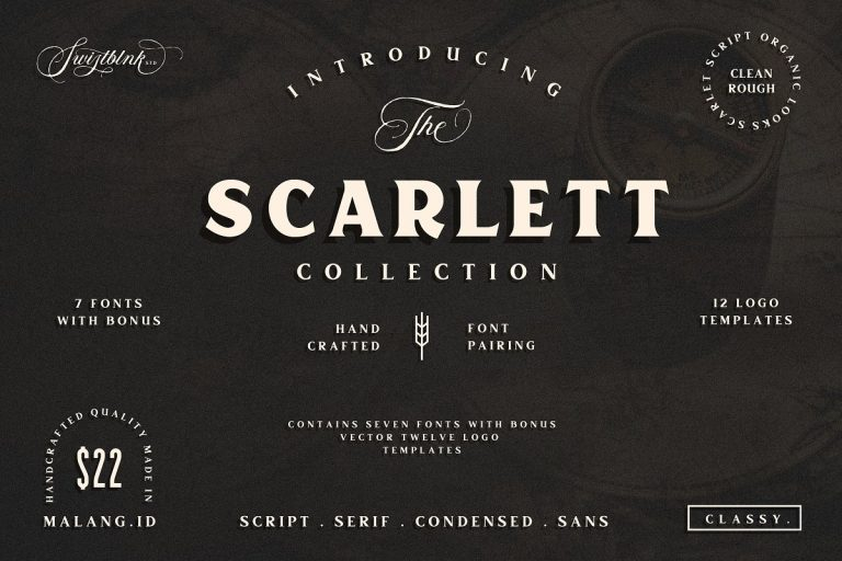 Free Scarlett Typeface Download - Free Fonts