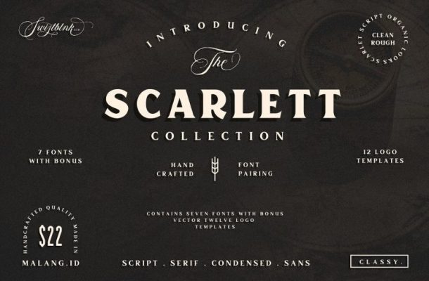 Free Scarlett Typeface Download