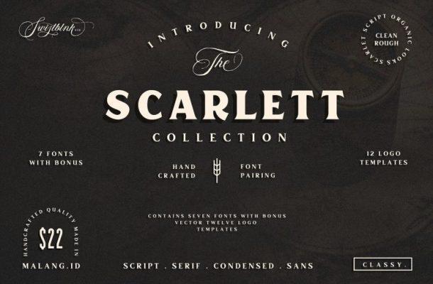 Free Scarlett Typeface Download