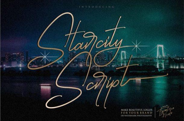 Starcity Script Font