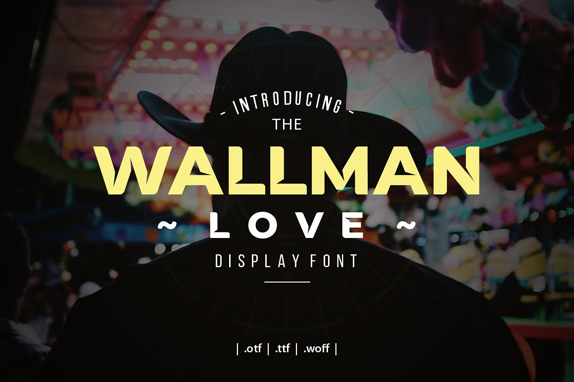 wallman-love-display-font