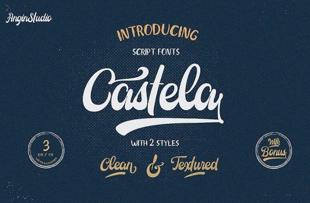 Castela Script Demo Font