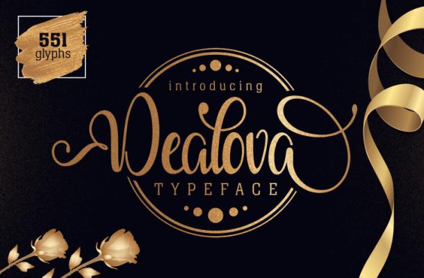 Dealova Script Font