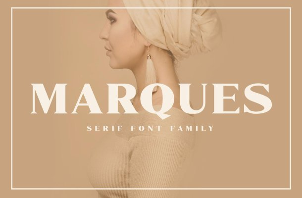 Marques Font Family