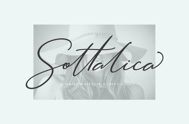 Sottalica Script Font