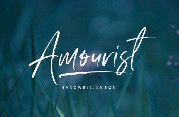 Amourist Handwritten Font