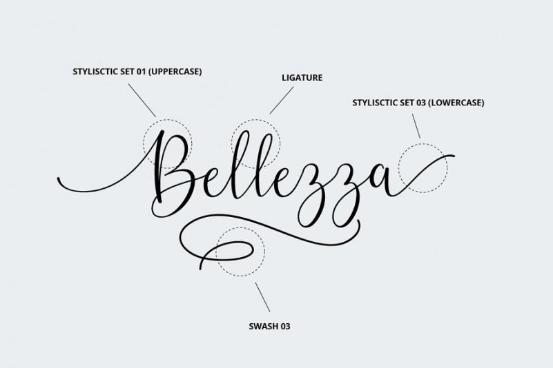 Belly Betty Script Font-3