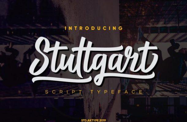 Stuttgart Script Font