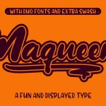Maqueen Display Font
